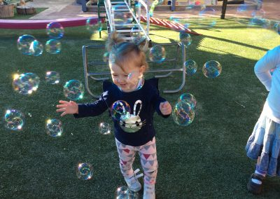 Kids with Bubble
