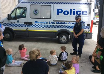Kids with Cop