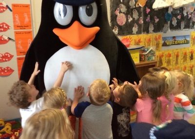 Penguin in the Classroom